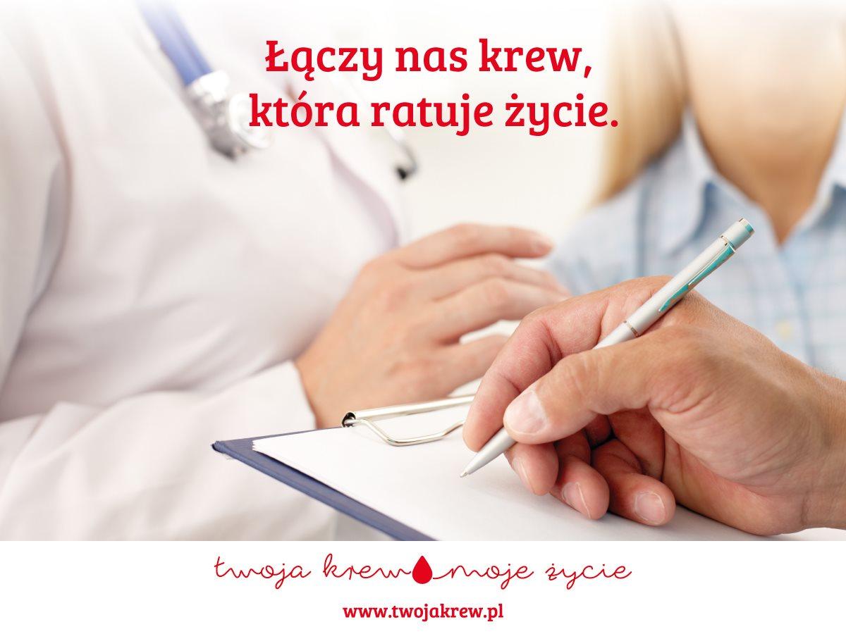 Oddaj krew – podziel się życiem
